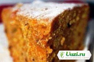 Постный пирог с орехами и сухофруктами Изображение