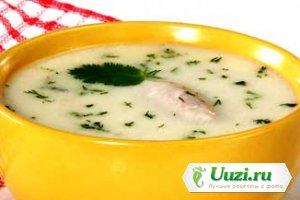 Куриный суп с миндалем Изображение