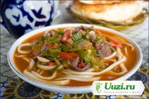 Лагман по Уйгурски Изображение