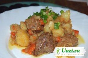 Жаркое из свинины и картофеля Изображение