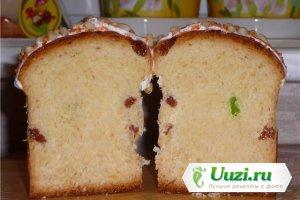 Кулич пасхальный в хлебопечке Изображение