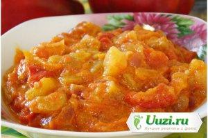 Болгарский перец в томатном соке Изображение