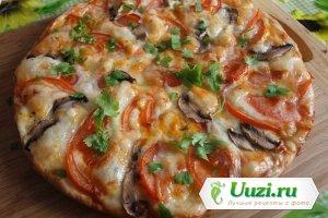 Картофельная пицца Изображение