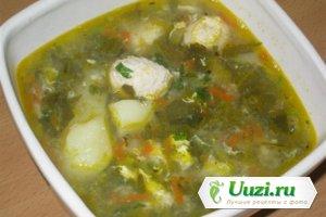 Суп с щавелем Изображение