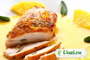 Свинина запеченная в фольге с апельсиновым соком Изображение