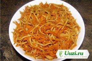 Сельдерей и морковь по-корейски Изображение