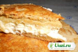 Французский пирог с сыром и луком Изображение