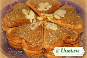Вафли ореховые Изображение