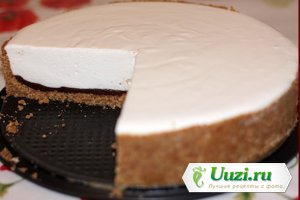 Творожной торт с шоколадом Изображение