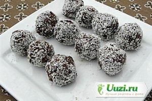 Кокосово-финиковые трюфели в шоколаде Изображение