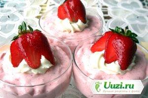 Чудо-десерт с клубникой Изображение