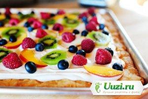 Пицца фруктовая Изображение