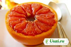Грейпфрут запеченный в микроволновке Изображение