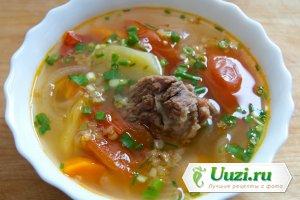 Суп из говяжьих ребер Изображение