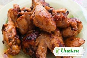 Цыпленок в хересе с чесноком Изображение