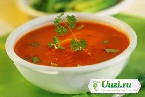 Пряный томатный суп с вермутом Изображение