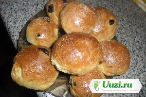 Латышские булочки с изюмом Изображение