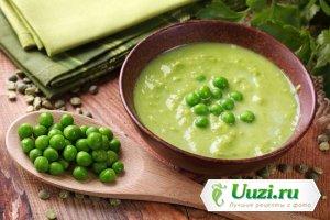 Суп-пюре с зеленым горошком Изображение