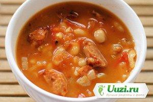 Риболлита (суп из белой фасоли) Изображение