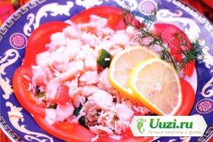Рыбный салат Изображение