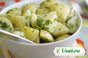 Немецкий картофельный салат Изображение