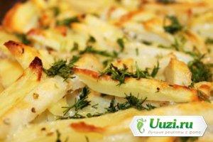 Запеченный картофель без масла Изображение