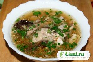 Кок-э-лики (шотландский куриный суп) Изображение