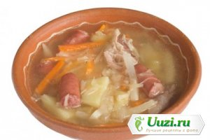 Айнтопф из капусты и сарделек по-швабски (суп) Изображение