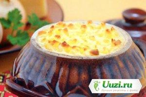 Картофель с сыром в горшочке Изображение