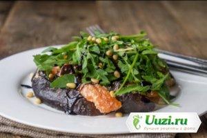 Легкий салат из рукколы и баклажанов Изображение