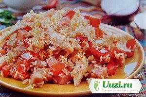 Ямбалайя (рис с курицей по-креольски Изображение