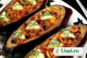 Баклажаны с овощами - Новогоднее блюдо Изображение