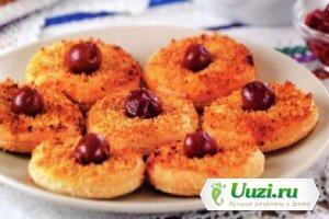 Гогошь (печенье с вишней и орехами) Изображение