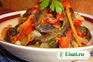 Салат из баклажан и сладкого перца Изображение
