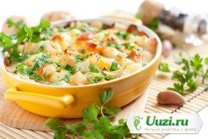 Мясо по-французски из телятины и грибов Изображение