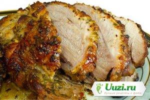 Свинина запеченная в духовке Изображение