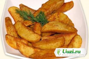 Пикантный запеченный картофель Изображение
