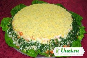 Салат мимоза с тунцом Изображение