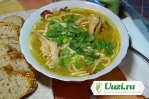Куриный суп с лапшой Изображение