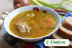 Куриный суп с картофелем Изображение