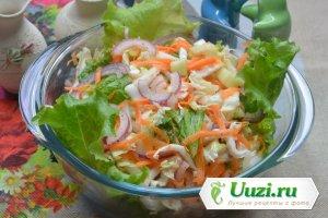 Салат из капусты Изображение