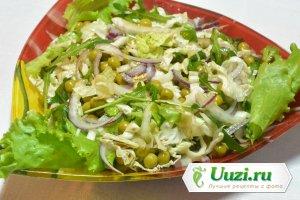 Салат из пекинской капусты с рукколой Изображение