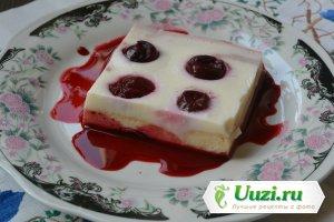 Торт желейный молочный Изображение