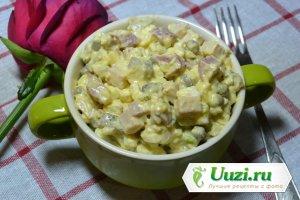 Оливье с колбасой Изображение