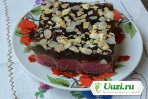 Торт желейный ягодный Изображение