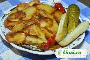 Жареная картошка Изображение