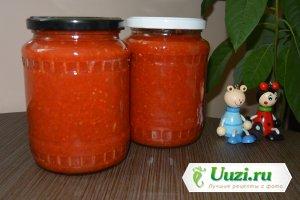 Заправка из помидоров и болгарского перца Изображение