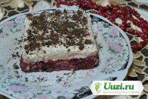 Творожно-желейный десерт без выпечки Изображение