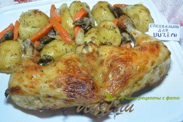 Курица с картошкой Изображение
