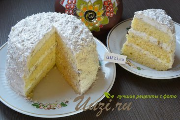 Банановый торт Изображение